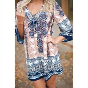 Boutique summer mini dress